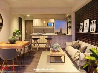Una sala de estar llena de muebles y una mesa en Retiro Club