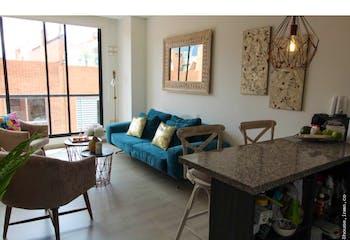Apartaestudio en Chicó Navarra, con 1 habitaciones- 53mt2