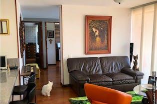 apartamento en portales del norte, bogota, con 3 habitaciones-87mt2