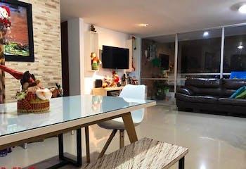 apartamento Camino De Brujas, Envigado, con 3 habitacion-107mt2