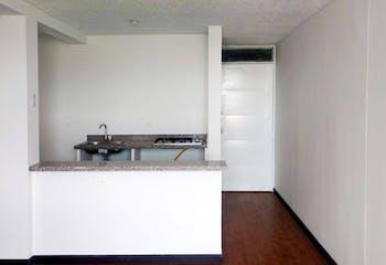Apartamento en Escosia, Bosa - 52mt, tres alcobas, balcón