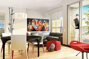 Apartamento en San Antonio Norte, Verbenal - 88mt, tres alcobas