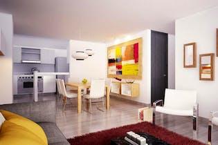 Apartamento e Barrancas, San Cristobal Norte - 78mt, tres alcobas