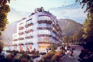 Proyecto nuevo en Edificio La Primera, Apartamentos nuevos en La Candelaria con 1 habitacion