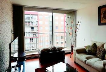 Apartamento en Hayuelos Reservado, Fontibon - 81mt, tres alcobas, balcón