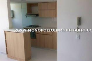 Apartamento en Bucaros, Bello - 60mt, tres alcobas, balcón