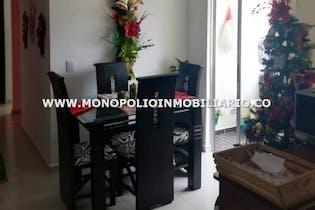 Apartamento en Barrio Perez, Bello - 63mt, tres alcobas, balcón