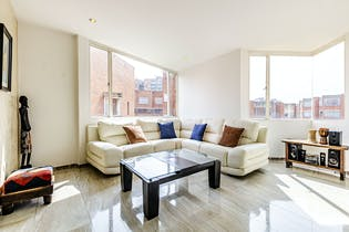 Apartamento en La esmeralda, Nicolás de Federman, 3 Habitaciones- de 134m2