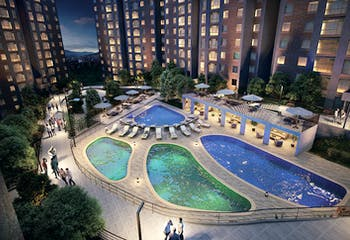 Majagua Vital, Apartamentos en venta en La Cumbre de 1-3 hab.