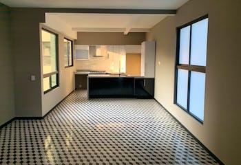 Departamento en venta en Roma, 105mt con terraza