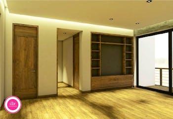 Departamento en venta en Condesa de 115 mts2