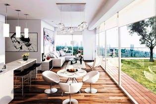 Departamento en venta en Condesa de 77 mt con balcón