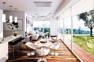 Departamento en venta en Condesa de 85 mt con balcón