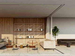 Una sala de estar llena de muebles y una ventana en ION