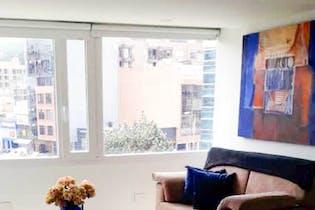 Apartamento en Bogotá Santa Barbara Central. Con 2 habitaciones-113.8mt2