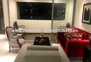 Apartamento en Sector Castropol, El Poblado. con 2 habitaciones-90mt2
