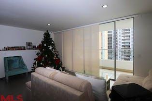 Apartamento en Loma de las Brujas, Envigado - 122mt, tres alcobas, balcón
