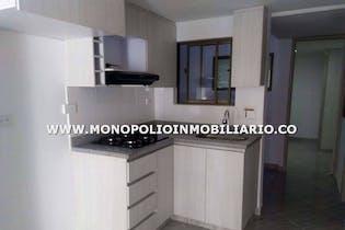 Apartamento en Calatrava, Itagui - 61mt, tres alcobas, balcón