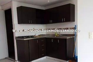 Apartamento en Barichara, San Antonio de Prado - 38mt, dos alcobas