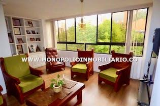 Apartamento en El Campestre, Poblado - 101mt, tres alcobas