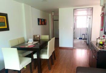 Apartamento en Cedro Golf, Cedritos - 88mt, tres alcobas