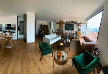 Apartamento en El Refugio, Chico - 155mt, tres alcobas, balcon
