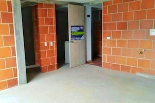 Apartamento en El Carmelo, Itagui - 60mt, tres alcobas, balcon