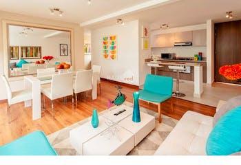 Apartamento en Cajicá-El Tejar, con 2 Habitaciones - 61 mt2.