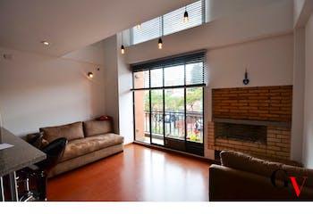 Apartamento en Cedritos-Contador, con Balcón - 71,58 mt2.