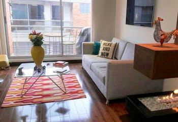 Apartamento En Bogota Chico Navarra, con 2 habitaciones-100mt2