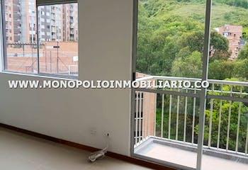 Apartamento en Hospital Mental, Bello, 3 Habitaciones- 53m2.
