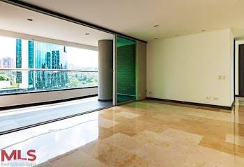Apartamento en La Aguacatala, Poblado - 96mt, dos alcobas, balcon