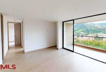 Apartamento en El Retiro, El Retiro - 87mt, dos alcobas, balcon y jardín de 11,84mt