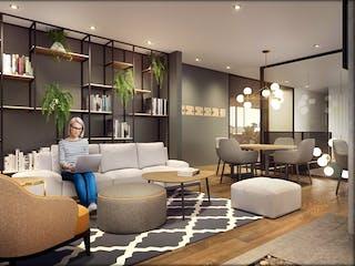 Área 93+, apartamentos sobre planos en Chicó Reservado, Bogotá