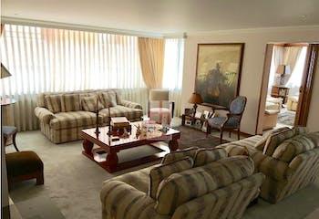 Apartamento en Rosales, Chico - 234mt, tres alcobas, chimenea