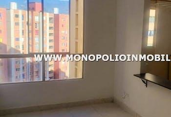 Apartamento en Barichara, San Antonio de Prado - 42mt, dos alcobas