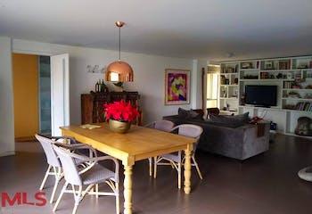 Apartamento en Las Lomas Poblado - 167mt, tres alcobas, balcon