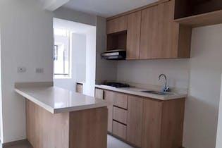 Apartamento en San German, Robledo - 62mt, tres alcobas, balcon