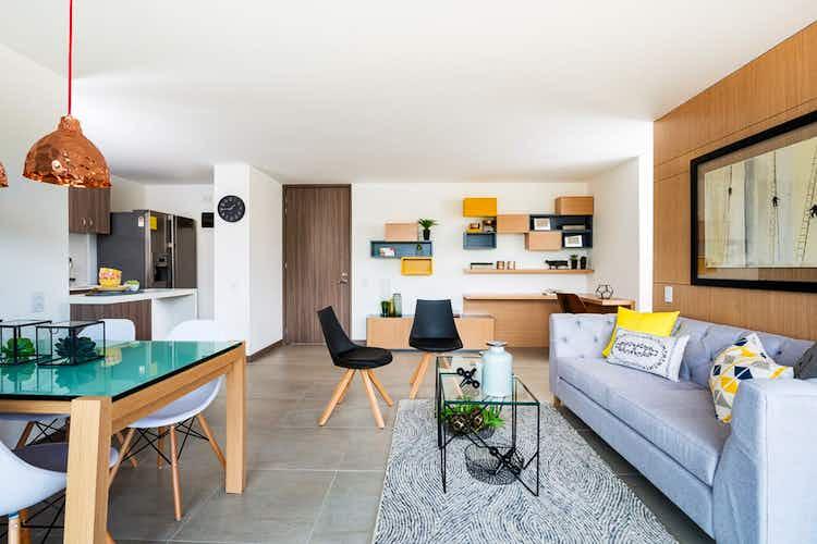 Portada Apartamento en Itagüí-Guayabalía, con 3 Alcobas - 69 mt2.