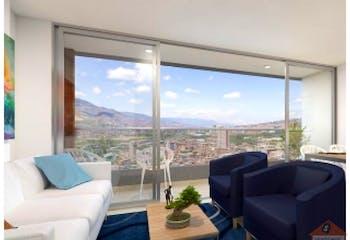 Apartamento en Centro, Bello - 64mt, tres alcobas, balcon