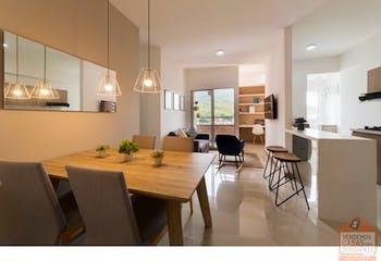 Apartamento en Norteamerica, Bello - 89mt, tres alcobas, balcon