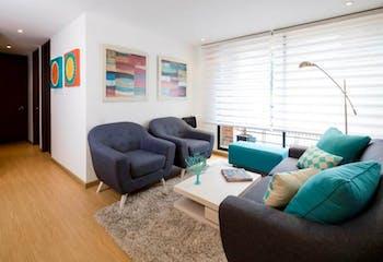 Apartamento en venta en Chia, 72m²