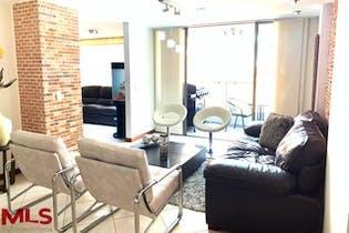 Apartamento en La Abadía, Envigado, 2 Habitaciones- 98m2.