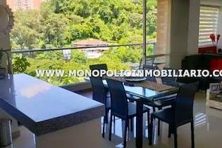 Apartamento en Loma de Cumbres, Envigado, 3 habitaciones- 89m2.