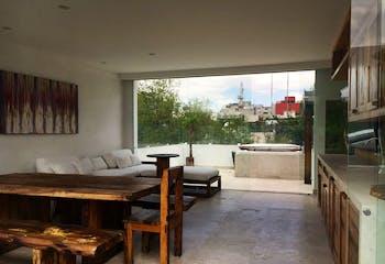 Departamento en venta en Polanco, Miguel Hidalgo con terraza.