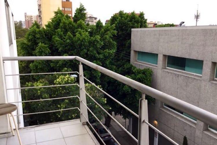 Portada Departamento en venta en col. Del Valle, con balcón.