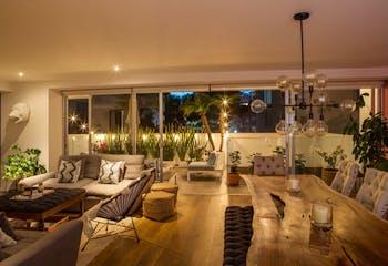 Departamento en venta en Polanco, 215 m2, con 3 terrazas privadas.