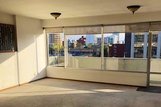 Departamento en venta en Polanco de 120 mt2. con balcón
