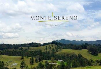 Monte Sereno Refugio Campestre s, Lotes en venta en Pantanillo con 2322m²