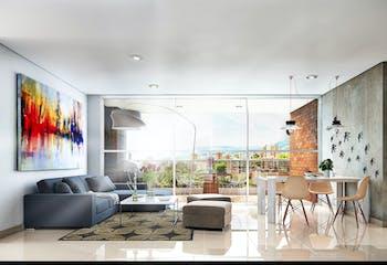 Firenzze, Apartamentos en venta en Loma Del Escobero con 85m²